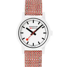 MONDAINE 瑞士國鐵 essence系列腕錶~32mm  磚紅 32110.LP ~APP~