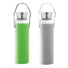 水立方耐熱玻璃瓶2入 550ML