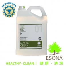 曜兆ESONA微泡沫天然環保獎多功能清潔劑5公升