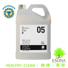 曜兆ESONA微泡沫天然環保獎浴廁清潔劑5公升
