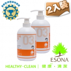 曜兆ESONA微泡沫歐洲環保獎濃縮洗碗劑740ml-二入裝