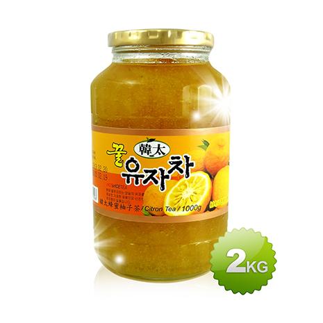 【韓太】韓國黃金蜂蜜柚子茶 2KG