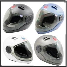 LAUS全罩下巴可拆式內置墨鏡素色安全帽 *促銷特價*