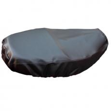 omax新一代防熱黑色原皮機車坐墊套 *促銷特價*