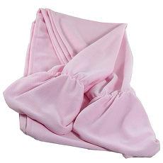 omax台製吸濕排汗防晒披肩袖套-1入粉藍 L