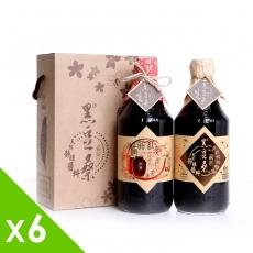 【黑豆桑】養生滷味組缸底醬油x6+紅麴醬油x6(550mlx12)