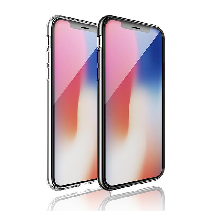 JTL / JTLEGEND iPhone X 雙料防震圈透明殼 (透明)