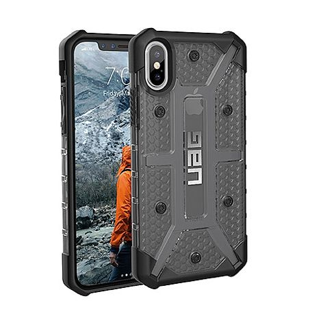 UAG iPhone X 耐衝擊保護殼 (透黑)
