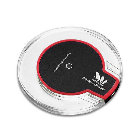 【WINDTAC】WT-ACH 無線充電盤-黑