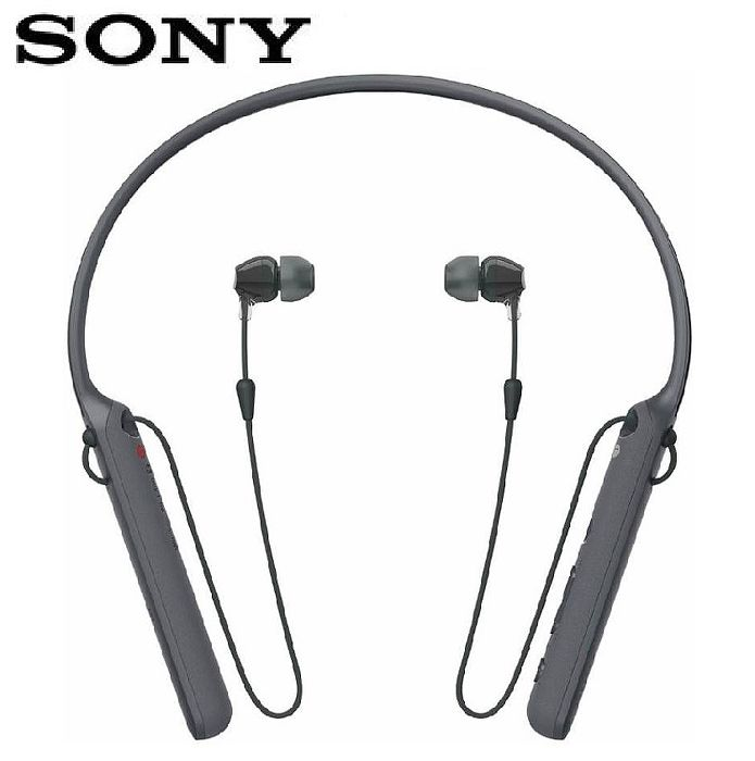 SONY WI-C400 無線藍牙頸掛式耳機-黑 (活動)