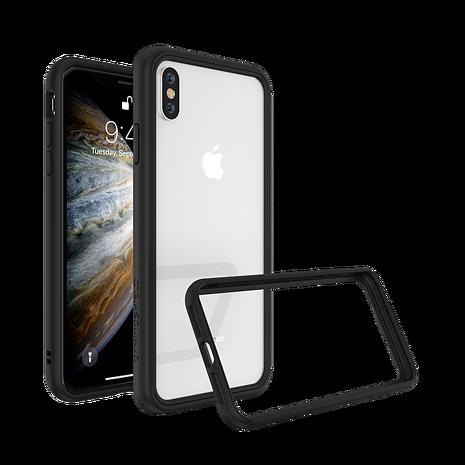 犀牛盾 iPhone XS Max 防摔邊框-黑