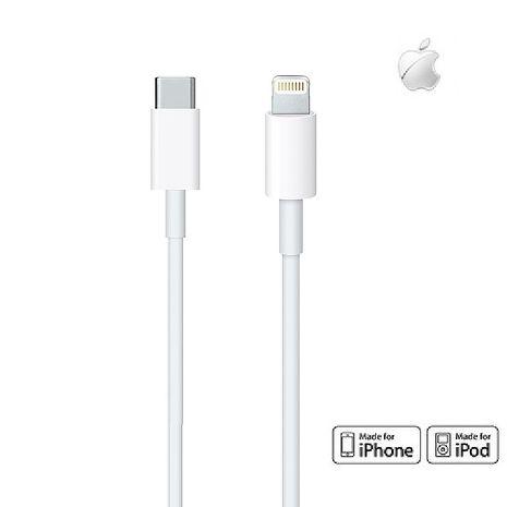 【原廠公司貨】Apple USB Type-C to Lightning傳輸充電線 1M (美商蘋果) 活動