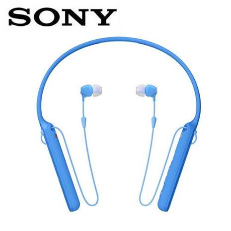 SONY WI-C400 無線藍牙頸掛式耳機-藍 (台灣索尼) 活動