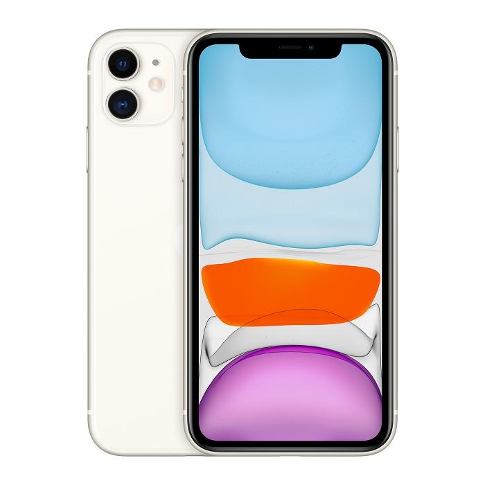 Apple iPhone 11 256G (白)【無線充電盤+殼貼組】