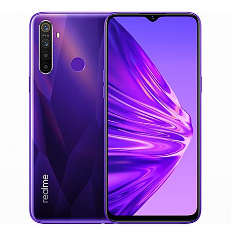 realme 5 4G/128G(電晶紫)(4G)6.5吋四鏡頭大電量猛獸智慧手機