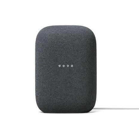超值二入組 Google Nest Audio智慧音箱(黑)