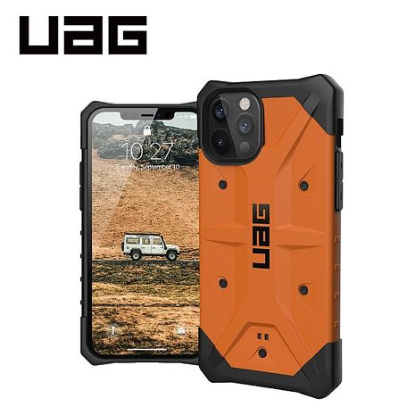 iPhone 12/12 Pro UAG耐衝擊保護殼-橘