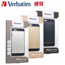 Verbatim  iPhone 6(4.7吋)鋁合金手機保護殼套組灰黑