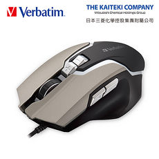 Verbatim VM1 巴德爾電競四段切換七鍵式光學滑鼠(活動)