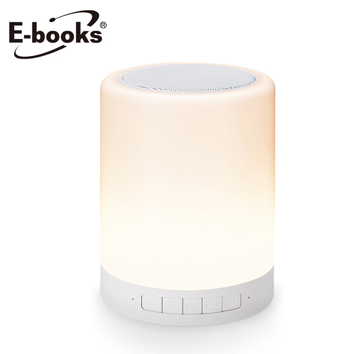 E-books D14 藍牙LED觸控式夜燈喇叭送X29雙系統通用線