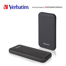 Verbatim 高質感雙輸出10000mAh行動電源