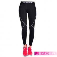 【Leader】女性專用 SportFit運動壓縮緊身褲