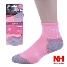 Naturehike 加厚型戶外機能襪/健行襪/登山襪(女款)-粉紅