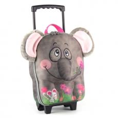 德國 okiedog 兒童3D動物造型系列-拉桿式行李箱 _大象