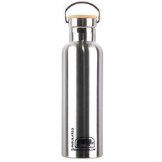 犀牛RHINO Vacuum Bottle雙層不鏽鋼保溫水壺(竹片蓋)750ml-原色