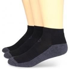 Timberland 2015男時尚騎車墊層黑灰雙色襪子3入組(預購)