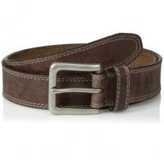 Timberland 2015男雙縫線古銀扣皮靴棕色皮帶★預購40