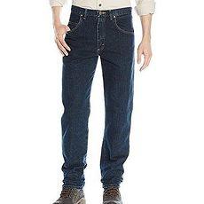 【Wrangler】2017男時尚藍哥休閒深調藍色牛仔褲★預購