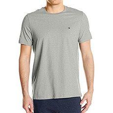【Tommy Hilfiger】2017男時尚灰色圓領短袖T恤★預購
