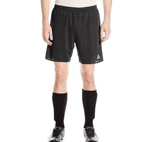 【Adidas】2018男時尚足球Parma16黑色短褲★預購