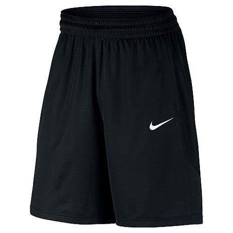 【Nike】2018男時尚Dry Fit黑色休閒運動短褲★預購