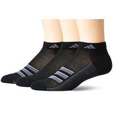 【Adidas】2018男時尚Superlite低切黑色運動短襪3入組 ★預購
