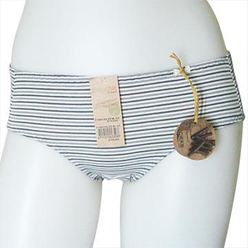 【黛安芬】Eco Chic裸紗原棉生理褲 兩件組(M-EL號) 森林綠L