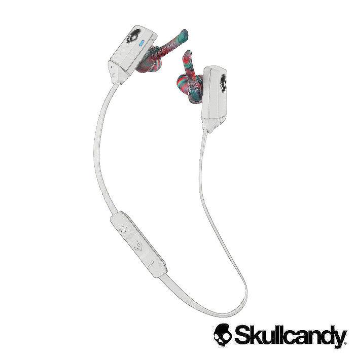 Skullcandy 骷髏糖 XT FREE 藍牙運動型入耳式耳機-白色(公司貨)