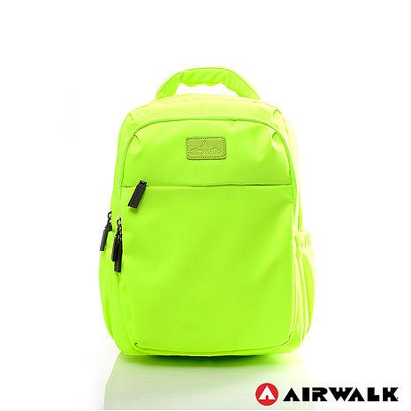 AIRWALK - 晴艷彩耀極輕便隨掛行李箱拉桿之旅行後背包 - 艷陽瑩黃