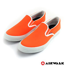 AIRWALK(男) - 無盡青春至尊系列 懶人式直套帆布鞋 - 螢光橘