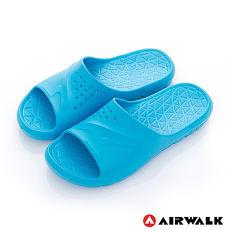 AIRWALK -  AB拖 For your JUMP 超彈力防水輕量EVA拖鞋 - 陽光藍7號