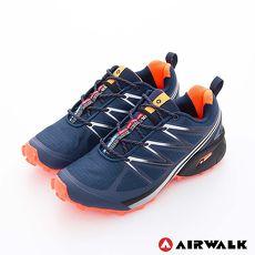 AIRWALK(男) - 雷電之光 撞色越野戶外運動鞋 - 桔閃藍
