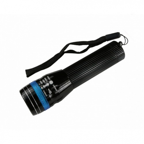【KINYO】8W LED超亮伸縮手電筒(LED-605)