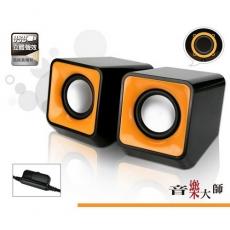 【KINYO】雷霆戰艦USB供電多媒體喇叭(US-172)