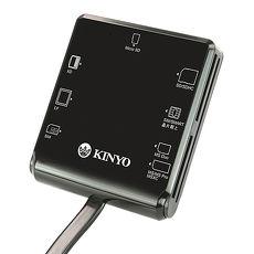 【KINYO】多合一7插槽晶片讀卡機(KCR-359)
