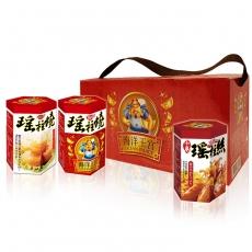 【幸福小胖】海洋王宮尊爵禮盒 辣味2盒(瑤柱燒x2+小卷x1/盒)-雙11app