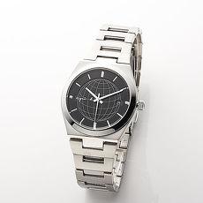 《agnes b.》 地球新星 經典時尚黑不鏽鋼腕錶 (7N32-0DH0X)