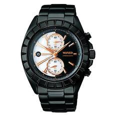 【ALBA】WIRED 東京潮流神秘黑限量腕錶 AGAV758 / 7T94-0BP0W