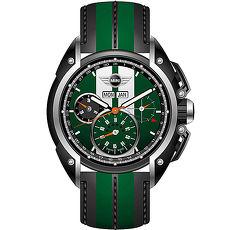 ~MINI Swiss Watches~英倫風範 計時腕錶~綠x黑 MINI~03 ~AP