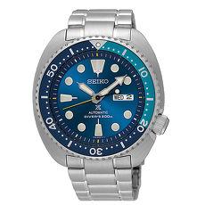 【SEIKO 精工】全新上市 PROSPEX 系列鮪魚罐頭機械潛水腕錶-藍4R36-06A0-B/SRPB11J1